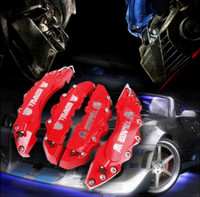 Calipers & Parts caliper disc brake - 2015 Newest Red Transformers Brembo Metal Style Disc For BMW Brake Caliper Covers Front Rear