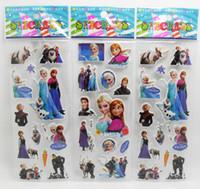 magnet sheet - 50 Sheet FROZEN STICKERS kids toys DIY Adhesive paper game Fridge magnets