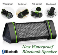 2 Universal MP3 Speaker Latest Portable Wireless Bluetooth Speaker 4W Stereo audio sound Outdoor Waterproof Shockproof speaker for iphone 4 5 iPod, car