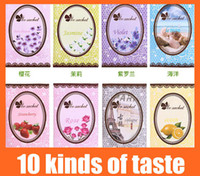 Wholesale Sachet Bags Dried Sachets Aroma Scents Lily Fragrance Dry Flower Closet Aroma Scents