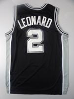Wholesale Basketball Jerseys San antonio Black Basketball Jerseys kawhi leonard Cheap Athletic Apparel Profession Outdoor Uniforms