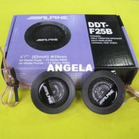 Speakers alpine audio speakers - ALPINE DDT F25B Car Speaker Car Tweeters Audio High Efficiency Speakers Universal for KiA RIO K3 k5 k7