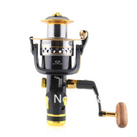 Cheap 3 pcs lot New SW60 10+1BB Bearing Spinning Fishing Reel Aluminium Gear Twin High Speed Free shipping