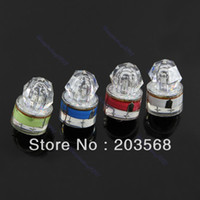 Wholesale 1pcs LED Deep Drop Underwater Diamond Fishing Flashing Light Bait Lure Squid Strobe