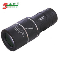 monocular - Bamboo hd night vision monocular telescope double infrared glasses
