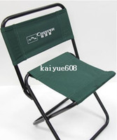 Wholesale High grade Quality Camping Chair cm Metallic Folding Outdoor Beach Chair Fishing Seat Easy to Carry can be Customized