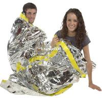 Wholesale Outdoor Survival sleeping bag emergency foil sleeping bag for hiking camping