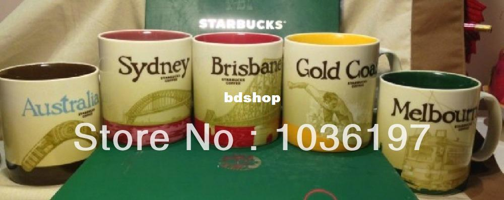 Wholesale New Free Shippingstarbucks City Icon Mug