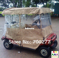 Car Covers buggy cart golf - transparent rain enclosure cover for seater golf cart buggy