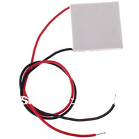 Wholesale 10 TEC1 Heatsink Thermoelectric Cooler Cooling Peltier V W A NEW