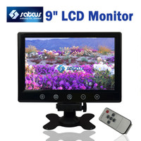 Wholesale 9 inch CCTV TFT LCD Monitor Security Monitor Switch Display Mode Remote Control