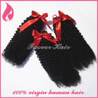 """Malaysian Hair Curly Human Hair 8-30"""" 3pcs lot With Mixed Lengthes Deep kinky Curly Grade 5A Virgin Hair Malaysian Extensions Weaves cuticle Free Shipping"""