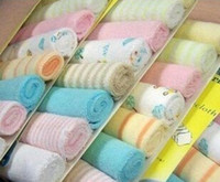 Wholesale 2015 Fashion Newborn Baby Soft Bath Towels Washcloth Baby Feeding Baby Washrag Infant Cotton Blending Bibs KSJ