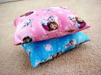 Wholesale Frozen Princess Elsa Anna Fashion Pillow CM Cartoon Cushion Frozen Elsa Anna Princess Pillow Cushion for Kids