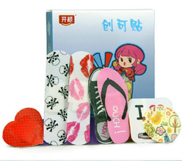 Wholesale Cute and Cheap PE Band Aid Wound Plaster for First Aid RY1449