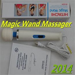 Wholesale 2014Newest Hitachi Magic Wand Massager AV Vibrator Massager Personal Full Body Massager HV R V