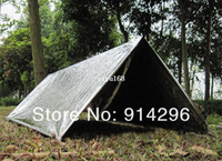 Wholesale New Tent Tube Survival Camping Shelter Emergencies Sporting Outdoor Emergency