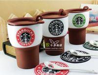 bone china tea cup - Ganzhou Original Bone China Starbucks Mugs High Quality Novelty Doomed Ceramic Coffee Cups Sublimation Tea Cups