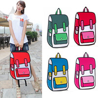 Wholesale High Quality Canvas Bag Comic Gismo D D Cartoons Bag Camera Bag Shoulder Handbag General Bags H10283