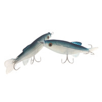 Wholesale NEW Sea Soft Baits Fake Artificial Silicone Lures Fishing Tackle with Hooks