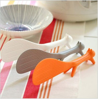 Wholesale Squirrel Shape Rice Scoop Spoon Paddle Scoop Ladle top sale Lovely