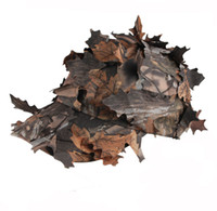 Wholesale TACTICAL D REALTREE CAMO HUNTING AIRSOFT LEAF NET GHILLIE HAT CAP