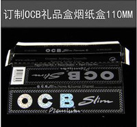 Acrylic acrylic paper trays - OCB original packaging mm translucent watermark slow burning hand pressed paper tray can hold Hookah Accessories