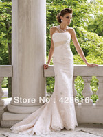 Other Reference Images Scalloped Chiffon Grecian Style Wedding Dresses 2014 New White Ivory Champagne Beads