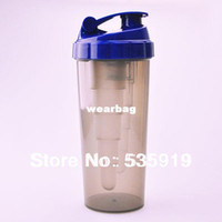 Wholesale New High Quality Protein Shaker Nutrition Supplements Blender Shaker Bottle Plastic Water Bottles Gym best choice MC747