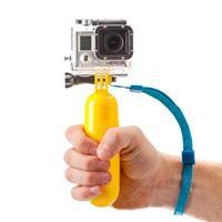 Wholesale Go Pro The Bobber Advanced Yellow Floating Handheld MonoPod For GoPro Hero Hero2 Hero3 Hero3 PP Material
