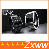 Yes aluminum For iPod Nano Metal aluminum material LunaTik Lynk Watch Kits Band luna tik Wrist Strap Case For iPod Nano 6 HZ 421