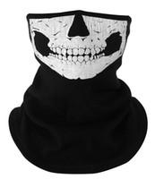 Wholesale WINDMASK Ski Snowboard Biker Ghost Ski Full Face Mask call of duty Cosplay Skull Face Motorrad Mask Windmask outdoor cycling