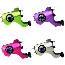 Bishop Style Rotary Tattoo Machine Gun For Tattoo Needle Ink Cups Tips Kits 4 Colors Available