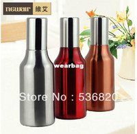 Wholesale Free shipment High quality stainless steel ml drinking water bottle with straw