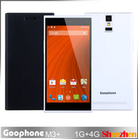 WCDMA Thai Android New Quad Core MTK6582 Goophone M3+ Android 4.4 SmartPhone 5.5 Inch 1.3GHz CPU GPS 3G WCDMA Projection Function