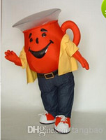 Wholesale Customized The Kool Aid Man Teapot mascot costumes performance props costume Adult Size
