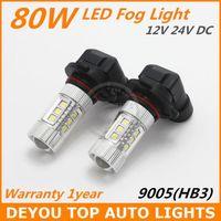 Wholesale New arrive x W Seoul HB3 LED Fog Light Bulb V car driving DRL Lamp Xenon White