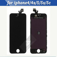 For Apple iPhone LCD Screen Panels  Wholesale - Best selling!!! Replacement for iPhone5 5S iphone 5 iphone5 LCD display screen Assembly with touch digitizer Free Shipping