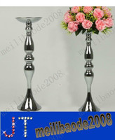 Wedding Table Decoration wedding vases - 16pcs Fashion Stainless Steel Road Lead Mermaid Vases Wedding Props Home Decorations MYY9189