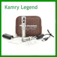 Single Clear  2014 Kamry Legend E Cigarette 1300mah Mechanical Mod Variable Volatge Battery Kamry e cig Dual Coil 30S Atomizer VS itaste 134 e cigs DHL