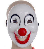 Halloween masks clown - Halloween Animation game show masked balls hard holiday clown mask for cosplay