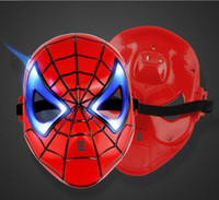 Wholesale Manufacturers selling flash spiderman mask mask