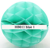 Wholesale 25cm inch Tissue Paper Flowers balls Poms honeycomb lantern Party Decor Craft For Wedding Decoration multi