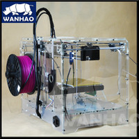 wanhao 40mm/s 225*145*150mm duplicator 4x,new type wanhao 3d printer with wonderful cover