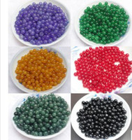 Wholesale Natural jade bead boutique DIY bulk mm Jade beads a variety of colors