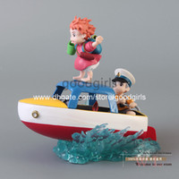 Wholesale Hayao Miyazaki Ponyo on the Cliff by the Sea PVC Action Figure Toy Gift MHFG012