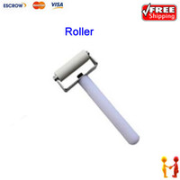 Wholesale Freeshipping Useful and portable roller for repairing mobile phone LCD screen seal the screen rolling rod with a blade as gift