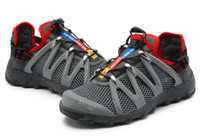 Name Brand Mens Hiking Shoes Cheap Zapatos Salomon Fellraiser