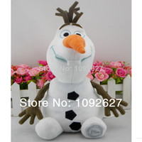 Wholesale 6PCS cm Arrival Cartoon Movie Frozen Olaf plush toy Frozen Olaf Snowman Plush Toys For Sale PP Cotton Stuffed Dolls