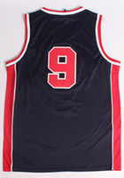 Wholesale to all country Michael Olympic Game basketball jersey Embroidered Logo